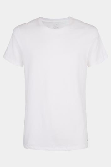Calvin Klein White 2-Pack Crew-Neck T-Shirt