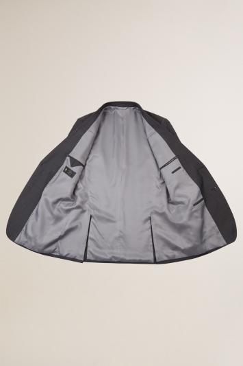 Lanificio F.lli Cerruti Dal 1881 Tailored Fit Charcoal Texture Jacket
