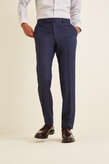 Moss London Slim Fit Blue Twisted Jacket