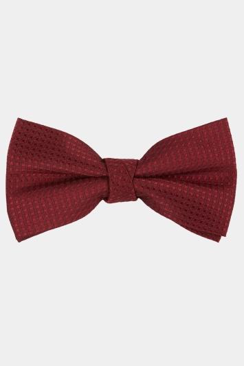 Wine Texture Bow Tie