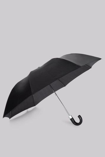 Incognito Mini Crook Umbrella Black