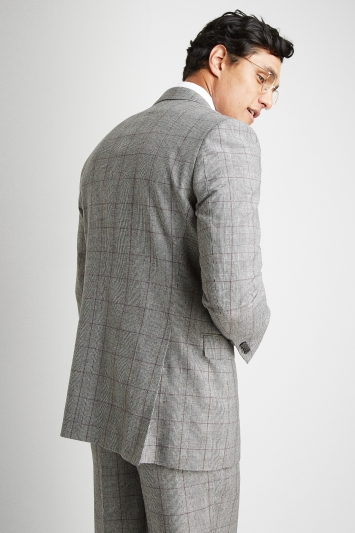 Savoy Taylors Guild Regular Fit Heritage Check Jacket