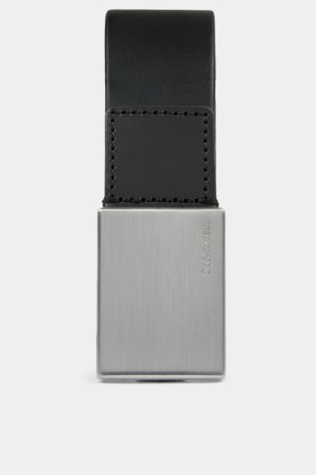 Calvin Klein Black Plaque Formal Belt