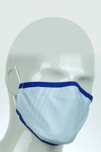 Pale Blue Mask