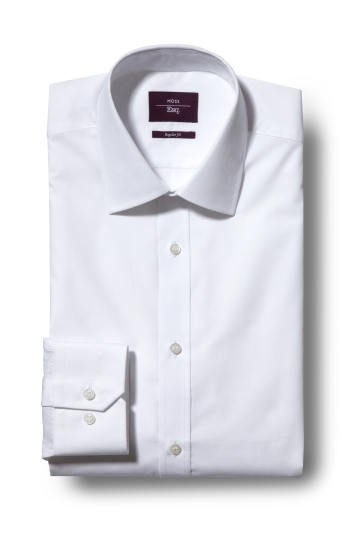 Regular Fit White Shirt