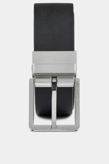 Calvin Klein Black/Brown Reversible 3.5cm Formal Belt