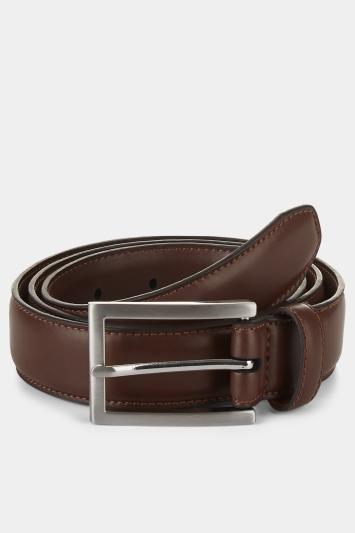 Moss 1851 Brown Flex-Fit Belt