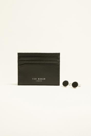 Ted Baker Trabec Cardholder & Cufflink Gift Box