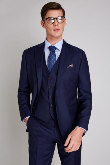 Ermenegildo Zegna Cloth Tailored Fit Naples Blue Jacket