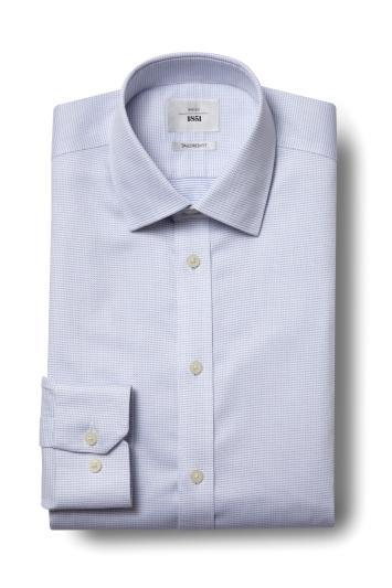 Tailored Fit Sky Dobby Zero Iron Shirt