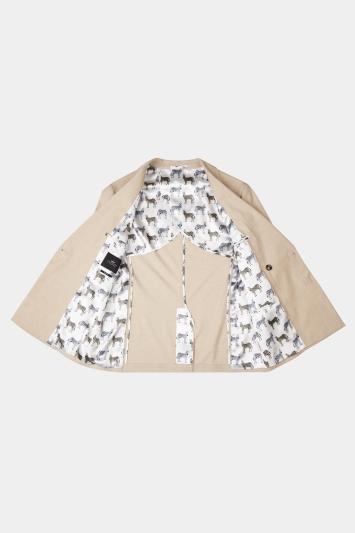 Slim Fit Latte Jacket