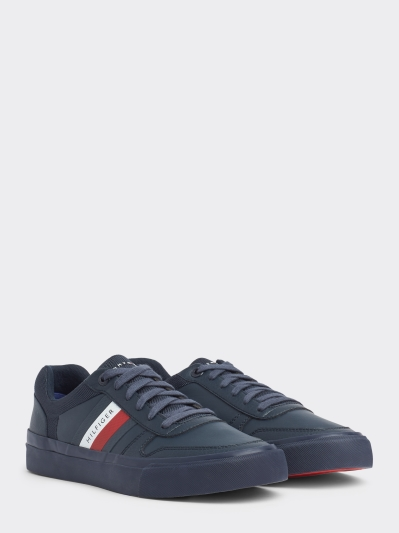 Tommy Hilfiger Navy TH Side Colour Trainer