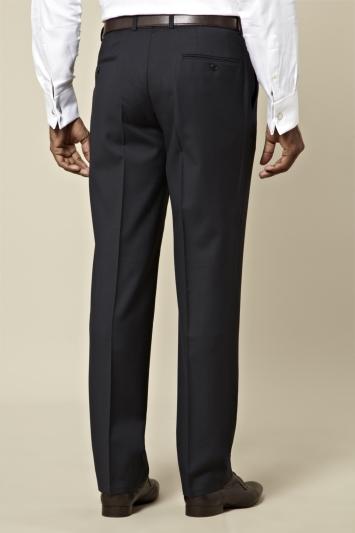 Lanificio F.lli Cerruti Dal 1881 Tailored Fit Navy Trouser