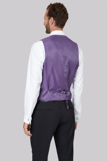 Ted Baker Tailored Fit Black Waistcoat