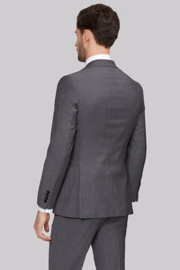 Moss 1851 Tailored Fit Grey Tonic Jacket