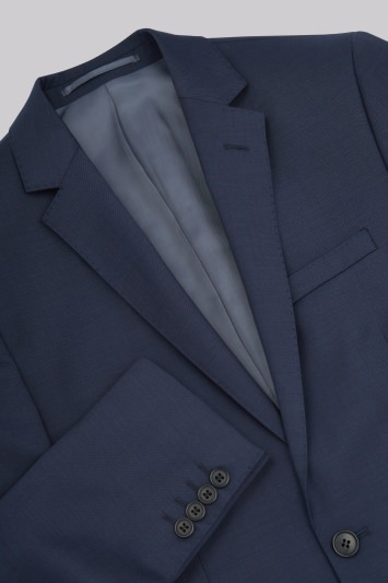 Moss 1851 Tailored Fit Blue Jacket