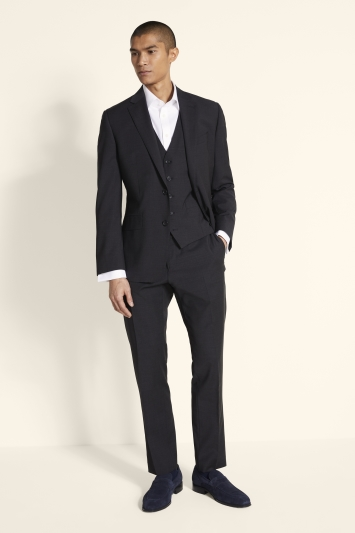 Moss 1851 Performance Tailored Fit Charcoal Jacket
