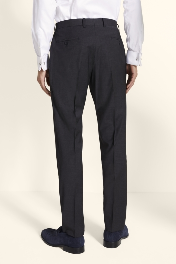 Moss 1851 Performance Tailored Fit Charcoal Trousers