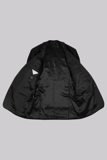 Moss Esq. Regular Fit Black Notch Tuxedo Jacket