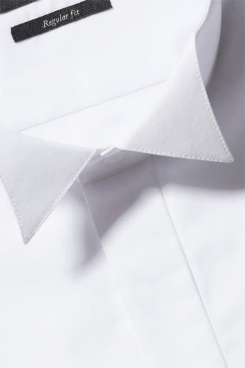 Moss Esq. Regular Fit Double Cuff Wing Collar Dress Shirt