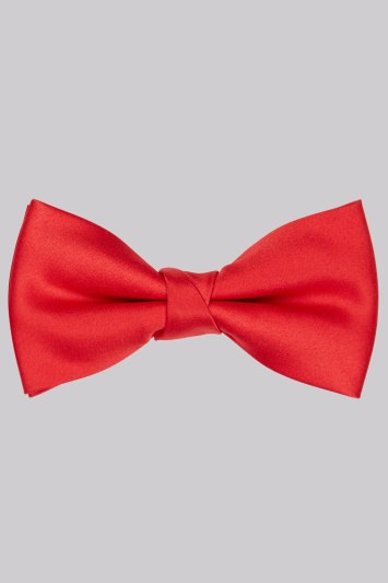 Moss 1851 Red Bow Tie
