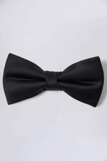 Moss 1851 Black Bow Tie