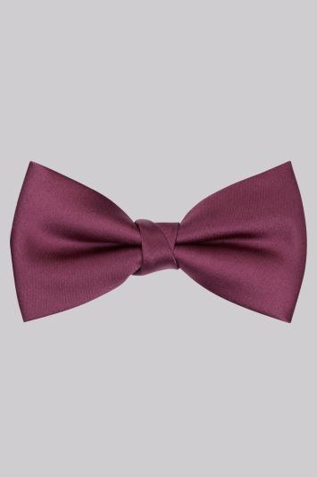 Moss 1851 Plum Bow Tie