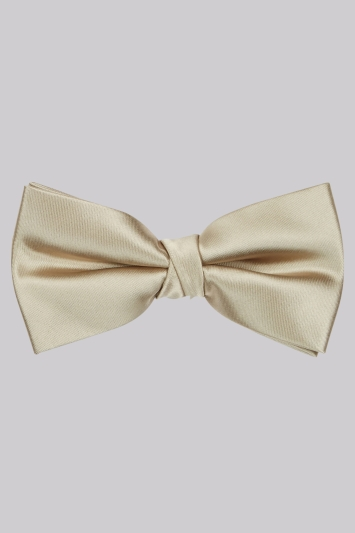 Moss 1851 Gold Bow Tie