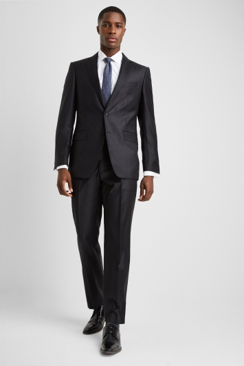 Ermenegildo Zegna Cloth Regular Fit Black Suit Jacket