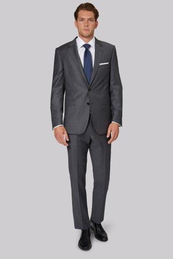 Ermenegildo Zegna Cloth Regular Fit Grey Suit Jacket
