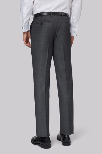 Ermenegildo Zegna Cloth Regular Fit Grey Trousers