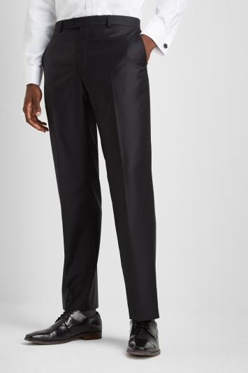 Ermenegildo Zegna Cloth Regular Fit Black Trousers