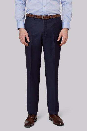 Ermenegildo Zegna Cloth Regulat Fit Naples Blue Trousers