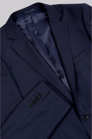 Lanificio F.lli Cerruti Dal 1881 Cloth Tailored Fit New Navy Suit Jacket