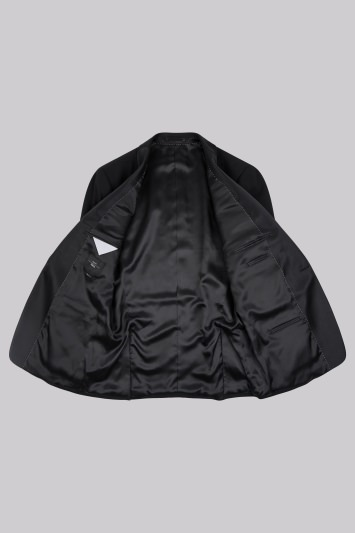 Moss Esq. Black Shawl Lapel Regular Fit Tuxedo Jacket