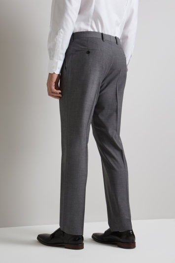 Moss 1851 Performance Tailored Fit Light Grey Trousers