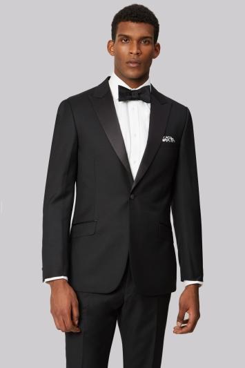 Ted Baker Tailored Fit Black Tuxedo Jacket