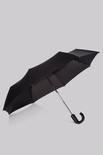 Fulton Black Automatic Open and Close Umbrella