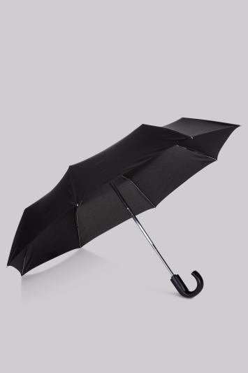 Fulton Black Automatic Open and Close Umbrella
