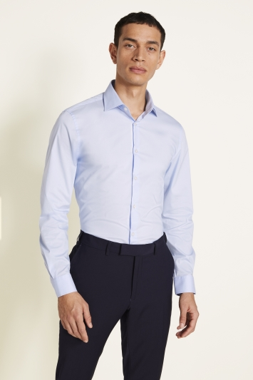 Slim Fit Sky Stretch Shirt