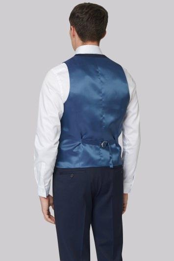 DKNY Slim Fit Ink Twill Waistcoat
