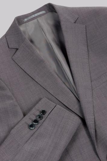 Moss London Skinny Fit Grey Tonic City Jacket