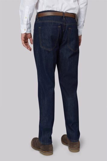 Moss 1851 Tailored Fit Rinse Wash Jeans