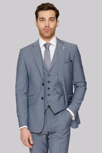Ted Baker Tailored Fit Light Blue Jacket