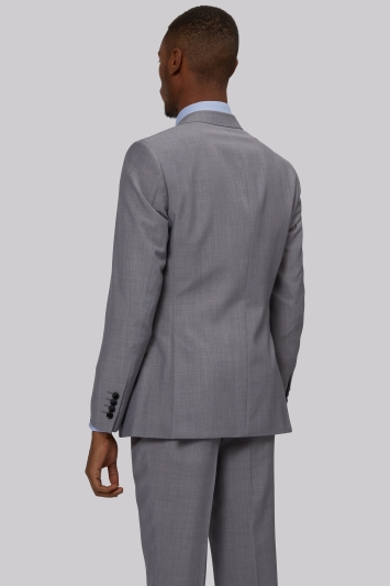 French Connection Slim Fit Silver Jacket