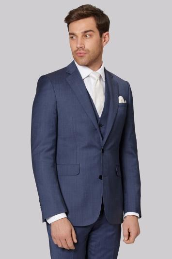 Lanificio F.lli Cerruti Dal 1881 Cloth Tailored Fit Light Blue Jacket