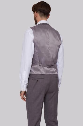 Lanificio F.lli Cerruti Dal 1881 Cloth Tailored Fit Neutral Waistcoat