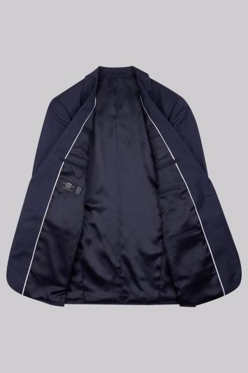 Lanificio F.lli Cerruti Dal 1881 Cloth Tailored Fit Indigo Semi Plain Jacket