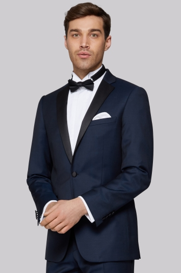 Moss 1851 Tailored Fit Teal Dress Jacket