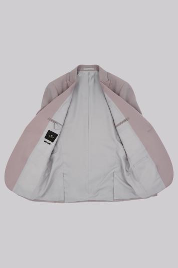 Moss London Skinny Fit Neutral Peak Lapel Dress Jacket